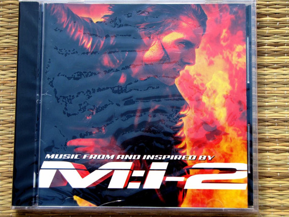 Cd - Mission Impossible 2 Limp Bizkit Foo Fighters Metallica
