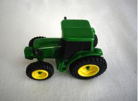 Carrinho Brinquedo Trator Fábrica John Deere Brinquedo