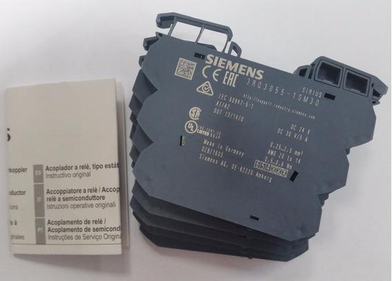 Relé De Interface Siemens 3rq3055-1sm30 Caixa Com 5 Unidades