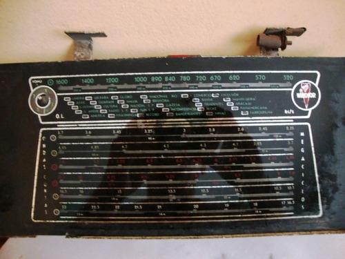 Dial Montado Do Rádio  Valvulado Windsor