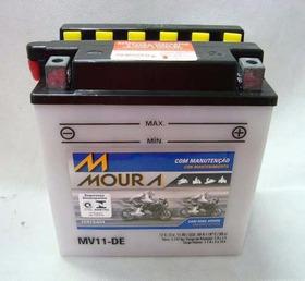 Bateria Moura Moto Mv11-de Yamaha Virago Xv 250 Yb10a-l2