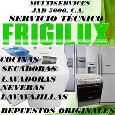 Servicio Técnico Autorizado Frigilux Nevera Lavadora Cocina