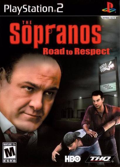 Jogo Ps2 The Sopranos Road To Respect Original