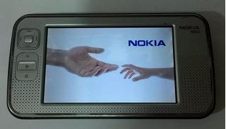 Nokia N800 Original Raro Tablet Cam Video Conferencia Wi-fi
