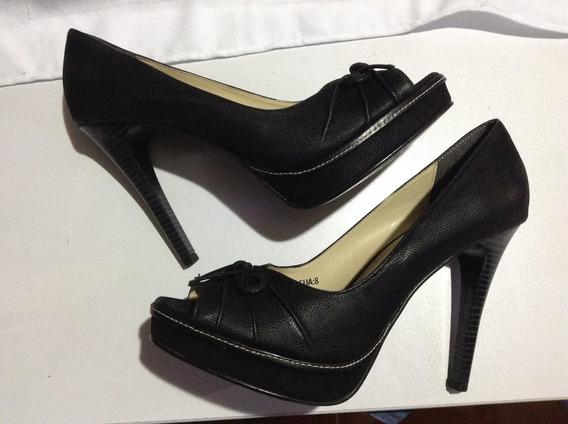 Zapatillas Color Negro Marca Terra Talla 25