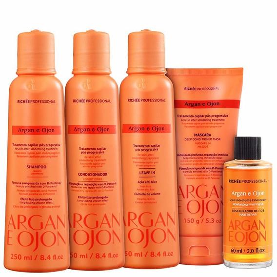 Richée Professional Tratamento Argan E Ojon Kit (5 Produtos)