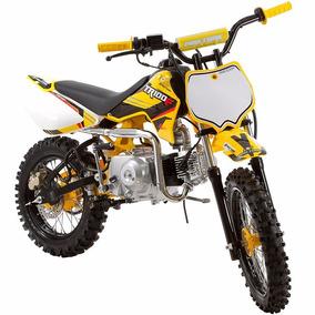 Mini Moto Tr100 F Pro Tork Yellow Amarela
