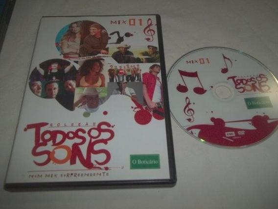 * Dvd - Todos Os Sons - Mpb Coletãnia