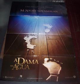 Cartaz/poster Cinema Filme A Dama Na Água - Modelo 2
