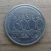 5000 Cruzeiros 1792-1992