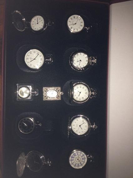Coleção Relógios De Época Novo - 11 Relógios