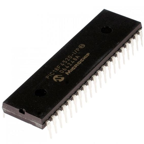 10 Pçs Microcontrolador Pic18f4520 * Pic 18f 4520 * 18f4520