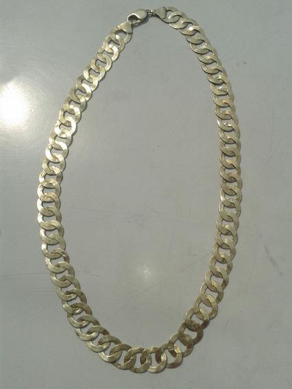 Cordao De Prata/banhado A Ouro/52 Gramas