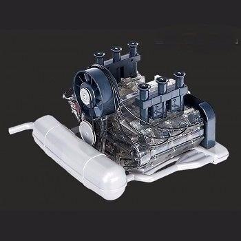 Motor Porsche 911 Boxer Miniatura Escala 1:4 Franzis