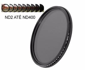Filtro Densidade Neutra Variável (fader) 62mm Nd2 Até Nd400