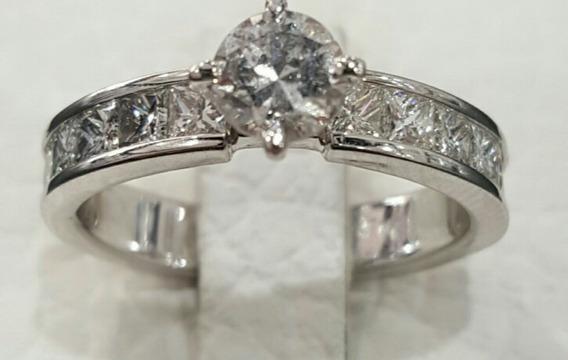 Anillo Compromiso Diamantes