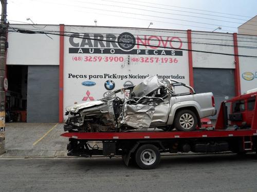 Sucata Volkswagen Amarok Highline Biturbo Peças Motor