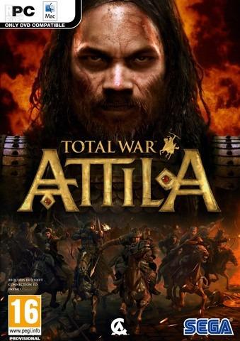 Total War Attila + Dlcs (mídia Física) Pc - Dvd Frete Gratis