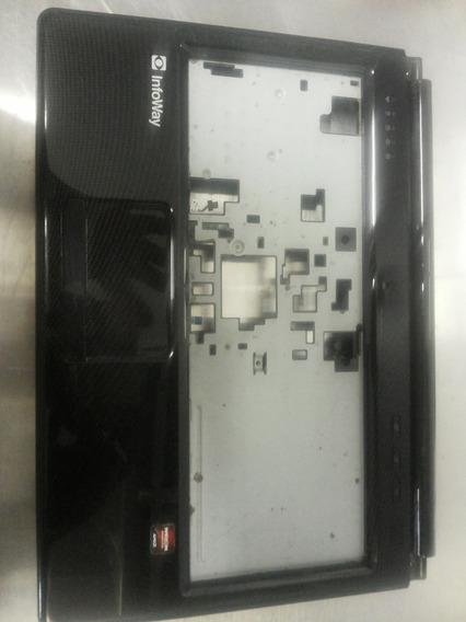 Carcaça Inferior De Notebook Itautec + Mouse Pad