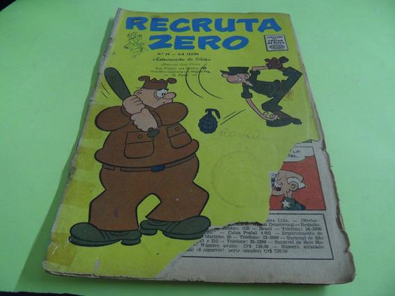 Recruta Sero N°24 Revista Em Quadrinhos Antiga