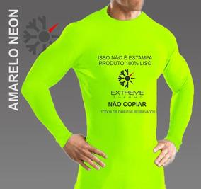 Camisa Térmica Segunda Pele Compressão Extreme Thermo Cores