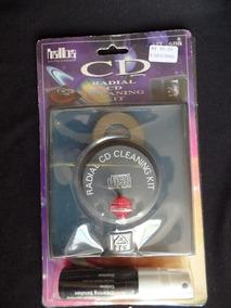 Kit Para Limpeza De Cd - Radial Cd Cleaning Kit