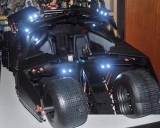 The Dark Knight Hot Toys Batimobil Batman Original 100% Ver