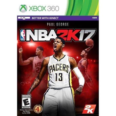 Nba 2k17 (mídia Física) - Xbox 360 (novo)