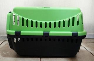 Jaula Transporte Gipsy Para Gato Perro Conejo Cuyi Ect