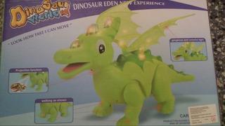 Dinosaurio Con Luz, Movimiento Y Sonido
