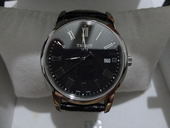 Relógio Tissot Novo Na Caixa.- Fundo Preto