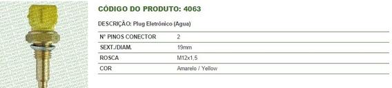 Sensor Temperatura Palio/weekend/siena/brava/marea 1.6 16v
