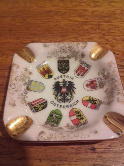 Cenicero De Porcelana Austria - Österreich
