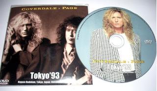 Corvedale Page Tokyo 93 (whitesnake Led Zeppelin) Dvd