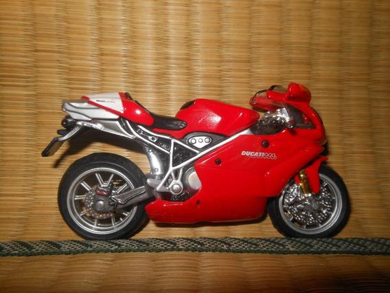 Moto Ducati 999s Testastretta 1:18 Maisto - Motocicleta