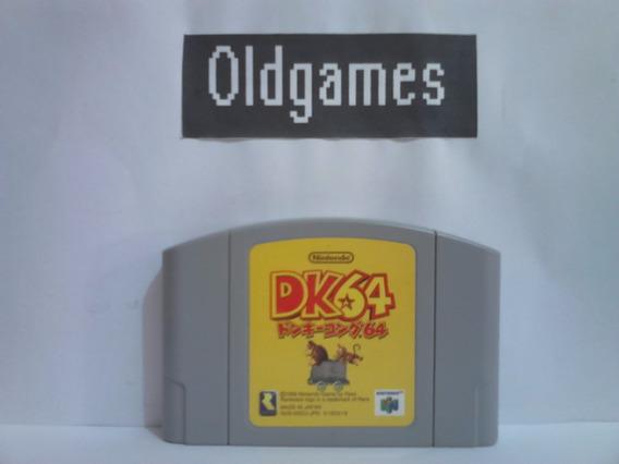 Donkey Kong 64 Original, Japonesa, Para Nintendo 64.