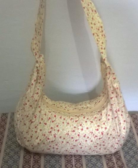 Bolsa Feminina Em Tecido Estampada Clara