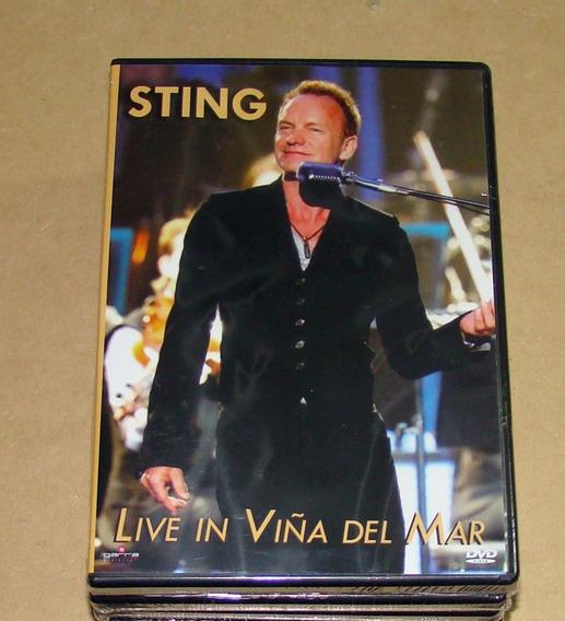 Sting - Live In Viña Del Mar - Dvd - U