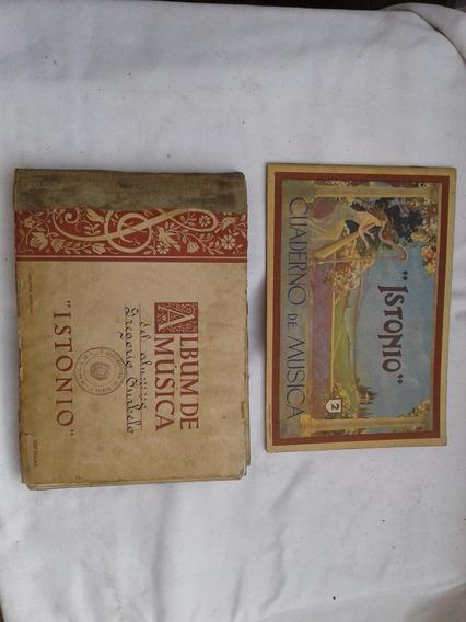 Lote De 2 Cuadernos Pentagramados A $250
