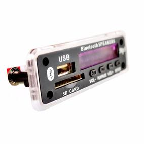 Modulo Bluetooth Mp3 - Placa Para Amplificador E Som Antigo