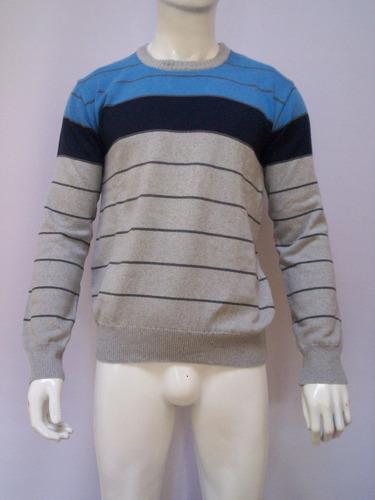 Sweaters De Lana Broke Cuello Redondo Para Hombre