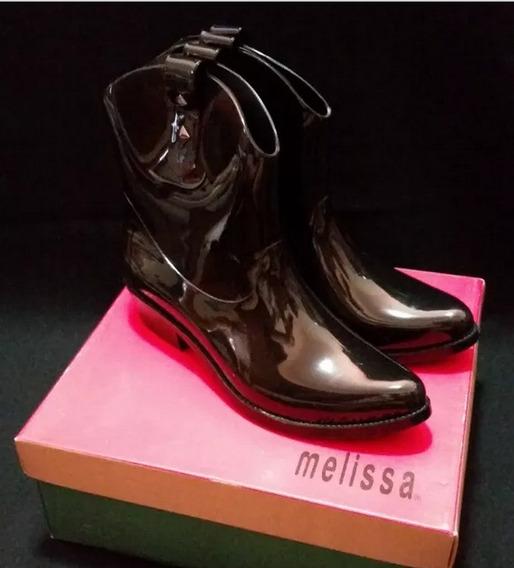 Melissa Bota Protection Preta 38 Nova - Lisa
