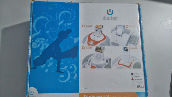 Dock Station Duotec Para iPod E Mp3 Player Duo168 Bc/lj