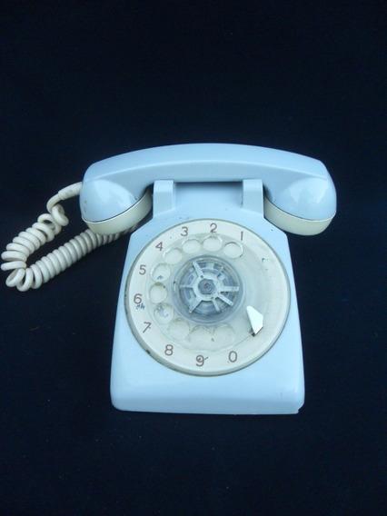 Telefono Gris Retro Antiguo Vintage Decoracion Entel Standar