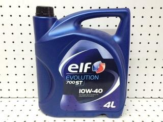 Aceite De Motor 10w40 Elf Evolution 700 X 4 Litros