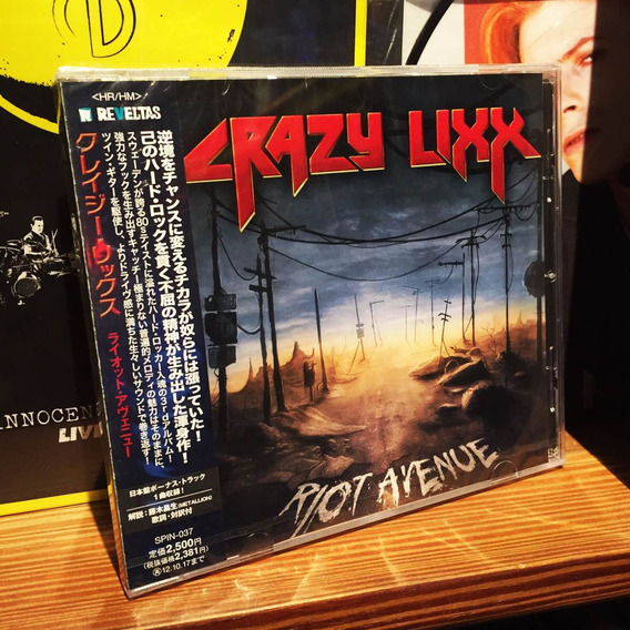 Crazy Lixx Riot Avenue Edicion Cd