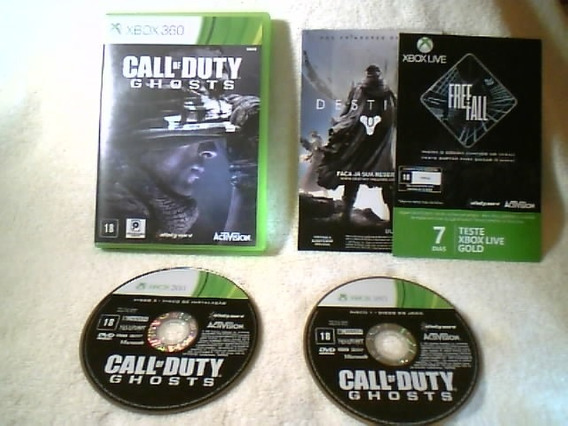 Game Xbox 360 - Call Of Duty - Ghosts