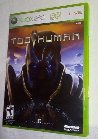 Too Human Original Completo Americano Xbox 360