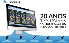 Software De Horário Escolar - Asc Timetables Básico