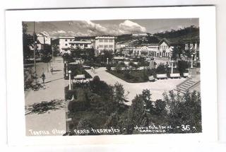 To13 Postal Antigo Teófilo Otoni Praça Tiradentes.